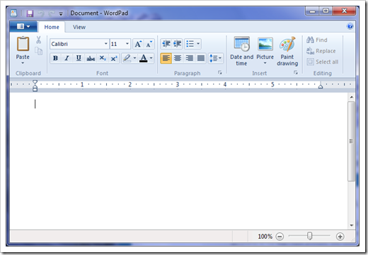 Windows 7 Gives WordPad A New Life | Next of Windows: www.nextofwindows.com/windows-7-gives-wordpad-a-new-life