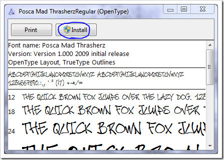 ON DAFONT HOW WINDOWS DOWNLOAD FONTS TO
