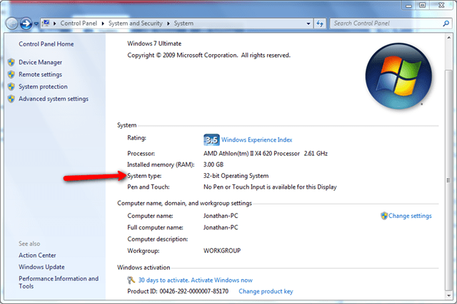 how to change security level in windows 7