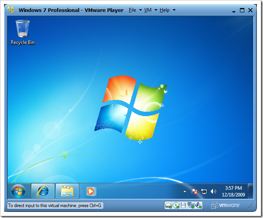 VMware Player over Windows Virtual PC to Run My Virtual Machines on