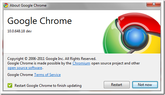 upgrade flash chrome