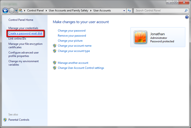 how to make yourself administrator on windows 7 with password