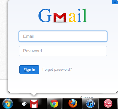 how to add sign in gmail