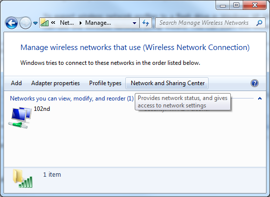 how to connect to wireless network through netsh