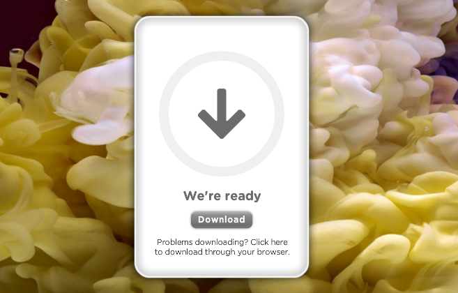 how to download wetransfer files on ipad