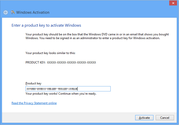 Windows 8 Activate Window
