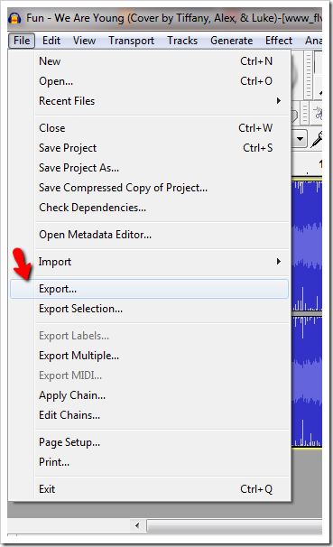 how to cut the end of a song on windows