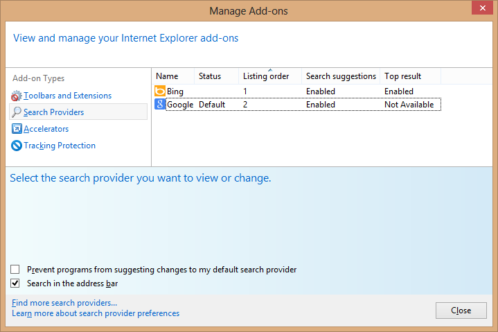 how to enable add ons in internet explorer 11