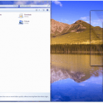 Windows 7 Aero Shake & Snap with Keyboard Shortcut