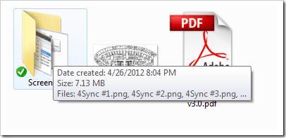 view folder size windows 7