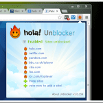Unblocking Blocked Content From Any Country with Hola Browser Extension
