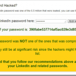 LinkedIn Password Check