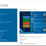 MetroTwit for Windows 8 Released for Preview