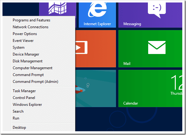 Панель управления windows 8 где находится