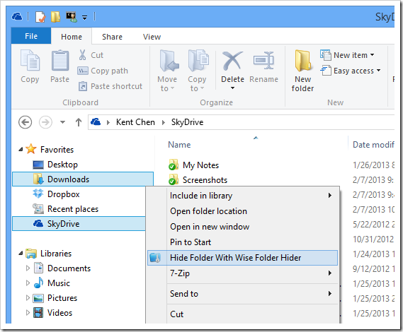 how to make the hidden folder visible