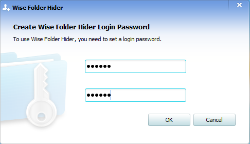 Wise Folder Hider - Setting Up the Password