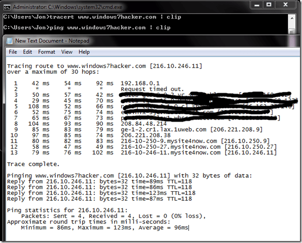 How To Ping In Cmd Windows 7 How to run a ping test