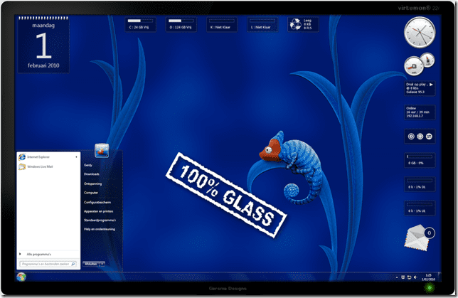 More Aero Glass Theme Gadgets For Your Windows 7 Next Of