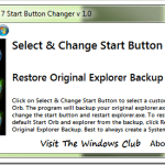 How To Change the Start Button in Windows 7 [Tool]