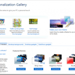 Personalization Gallery Launched with Tons of Themes, Gadgets, and High Resolution Wallpapers for Windows 7