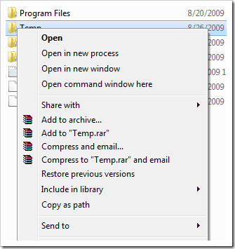 how to open dos prompt in windows 7