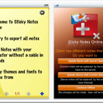 Sticky Notes Online Goes On iPhone Getting Your Notes Sync'd Across the Platform