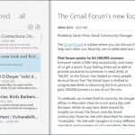Mishra Reader is A Google Reader Windows Client with Metro Design