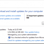9 Critical Windows Updates for February 2012