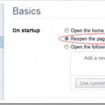 How To Always Open Pages or Tabs from Last Session in Chrome, Firefox, Safari, and IE