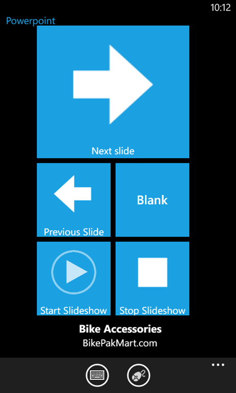 how to connect powerpoint from phone to computer
