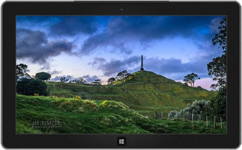 New Zealand Landscapes: One Tree Hill theme