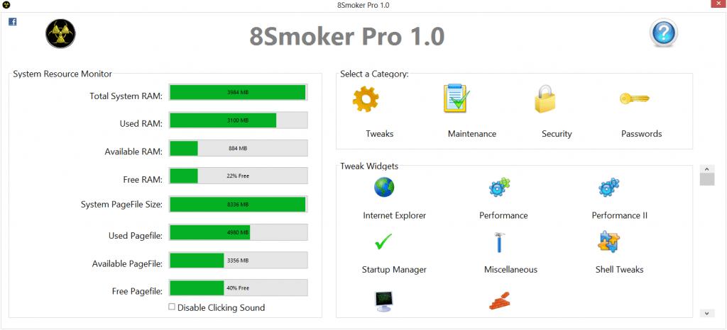 8Smoker Pro - Tweaks