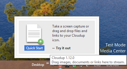Cloudup - Windows client is ready