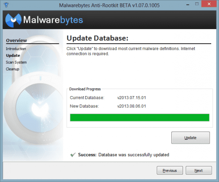 Malwarebytes Anti-Rootkits