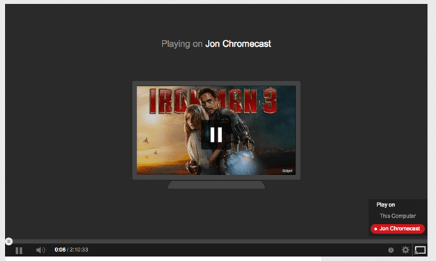 youtube chromecast
