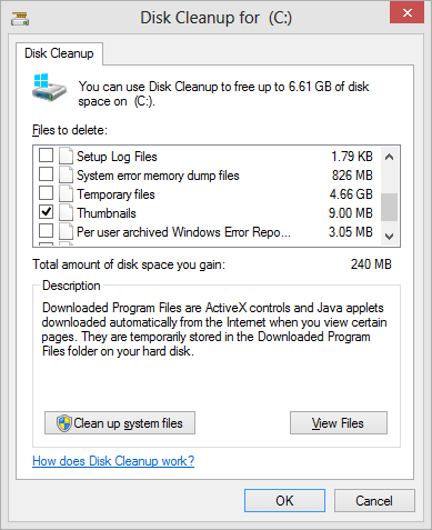 Windows Disk Cleanup just opened up a portal into a new dimension! - What  the Daily WTF?