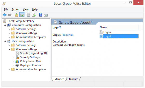 Group Policy - Script