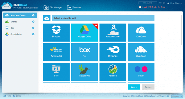 MultCloud - Put multiple cloud drives into one. - 2016-07-18 23_33_13