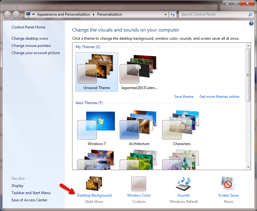 How to install deskthemepack on windows 7 no third party tool required