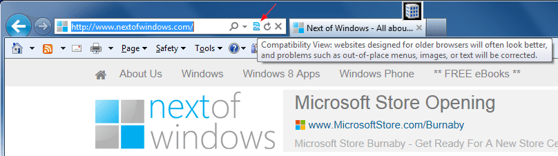 Where is Compatibility View in IE 11, And How To Use It?