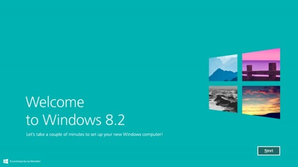 Windows 8.2 - installation