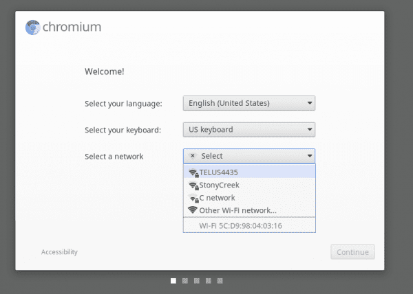 Chromium OS Welcome