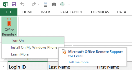 Office Remote - desktop plugin