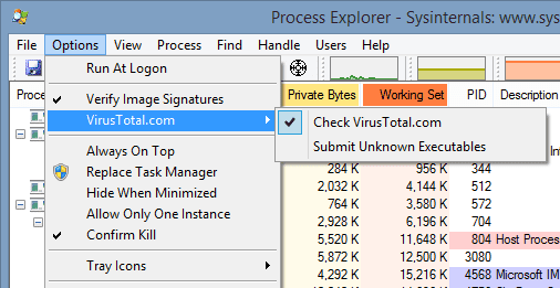 Process Explorer to Tell You If Your Running Apps Are Safe