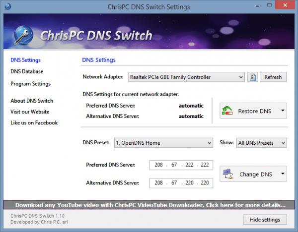 ChrisPC DNS Switch Settings - 2014-03-04 12_18_53