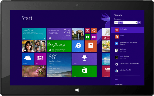 windows 8.1 with Bing