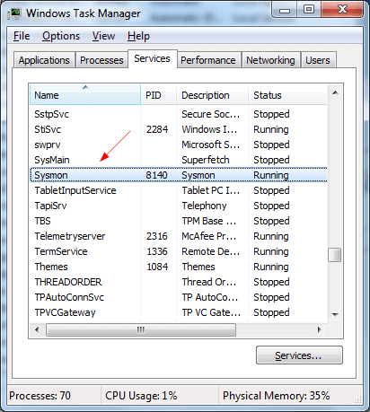 troubleshooting with the windows sysinternals tools pdf