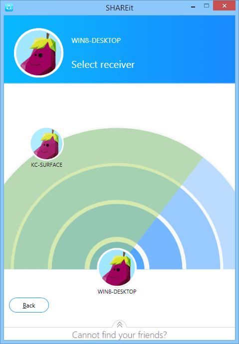 shareit - sending file