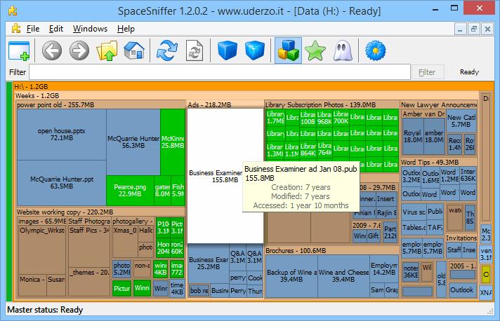 disk space analyzer windows 7 free