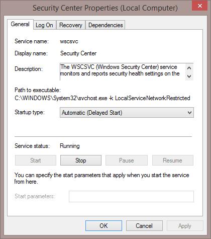 Security Center Services